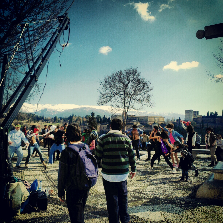 Harlem Shake en Granada
