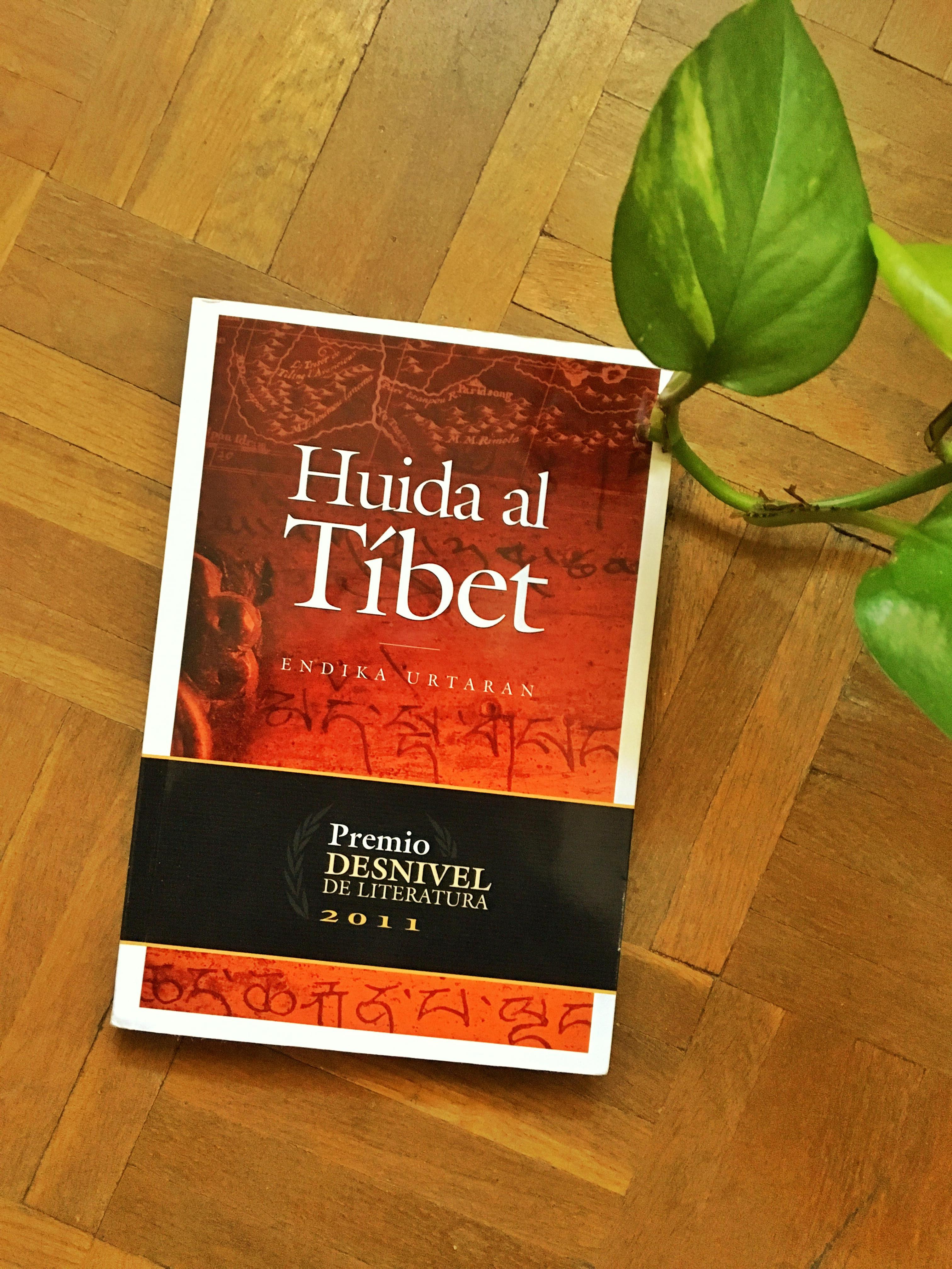 Libro Huida a Tibet